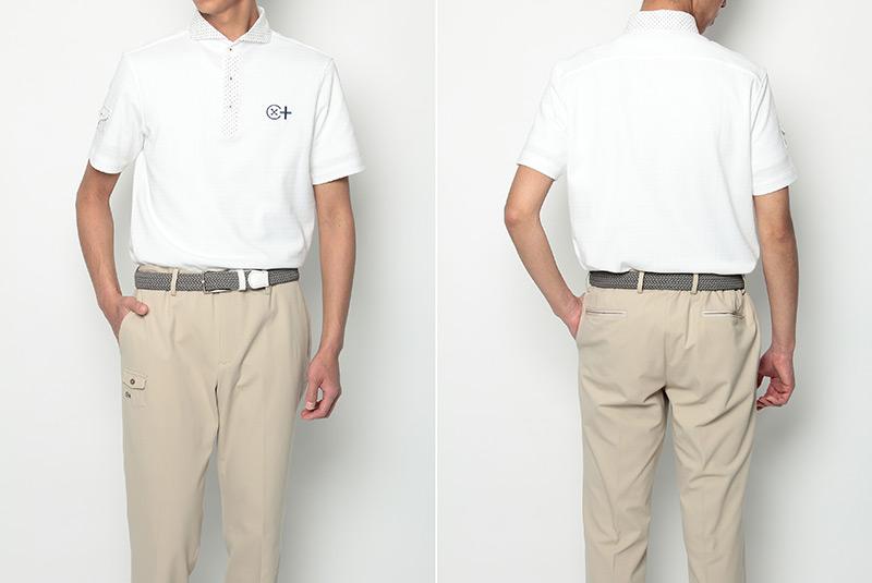 スツールズ カミーチャスポルティーバプラスの半袖ポロシャツ