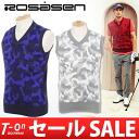 ロサーセン / ロサーセン / best knit best V neck best wool blend camouflage pattern camouflage pattern Rosasen ロサーセンゴルフウェア