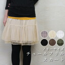 A super affordable price! The size that six colors of ◆ development ◆ Tulle frill skirt ◆ is big with both the mini and the knee-length with the *◎ waist rubber that Jyr is lovely mature softly of the dot design relaxedly◆●