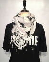 Skull pattern cotton gauze material stall ★ 6 colors