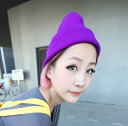 ★Constant seller longish watch cap ★ colorful knit hat