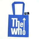 """The Who blue"" logo eco tote bag"