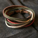 じゃら leather lace real leather leather wristband leather bracelet