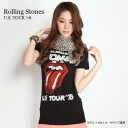 "Rolling Stones ""US TOUR ' 78"" ladies rolling stones T shirt"