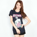 """""""LUST FOR LIFE"""" navy Lady's T-shirt"""
