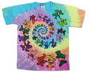 "Rock T shirts, band T shirts ""Grateful Dead / the grateful dead"" tidy Rainbow print T shirt limited T shirt short sleeve T shirt crew neck T shirts ROCK men T shirts T shirts"