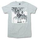 """REVOLVER"" gray print T shirt limited T shirt short sleeve T shirt crew neck T shirts ROCK men T shirt T shirts"
