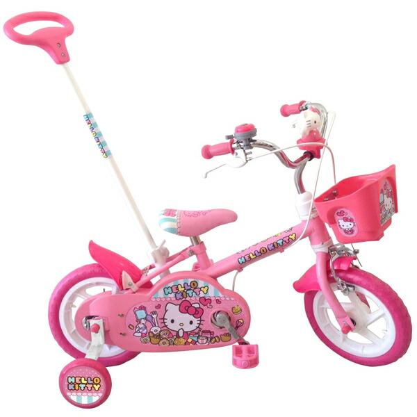 送料無料 12インチ 子供用自転車 ハローキティ