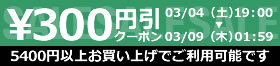 野球館 300円引クーポン