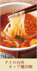 送料無料 タイの台所カップ麺 22個 2000円