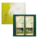 Organic JAS certified leaves gone cleffa mukojima Garden Gift ' leaves! ピイギフト Sencha 80 g × 2 '