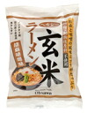 ●119 g (beat 80 g of noodles) of healthy unpolished rice ramen (mixture of pounded sesame seeds and bean paste taste)