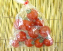 Approximately 150 g of organic or natural agricultural methods mini-tomatoes