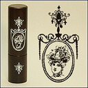 """The seal タイヨートマー X Tokyo antique antique stamp face of a seal size that is stylish in Rich: 12Φ(mm) """"CAMEO WHITE"""""""