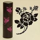 """アンティークハンコ design size: 13.5 Φ mm tyyothomar × Tokyo antique """"FLORAL PINK"""