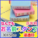 Anything your name your name seal shachihata expression stamp: 30 x 5 (mm) refill inks and solvents with
