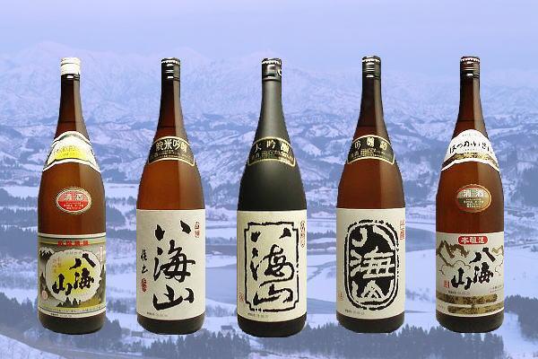 新潟銘酒「八海山」の飲み比べセット
