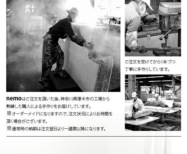 神奈川で製造しています。