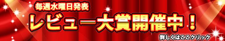 レビュー大賞開催中!毎週水曜日更新!