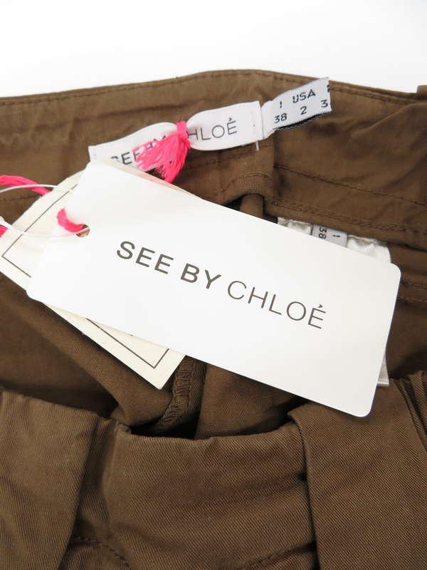 【SEE BY CHLOE】【ボトムス】シーバイクロエ『コットンスカート size38』レディース 1週間保証【中古】