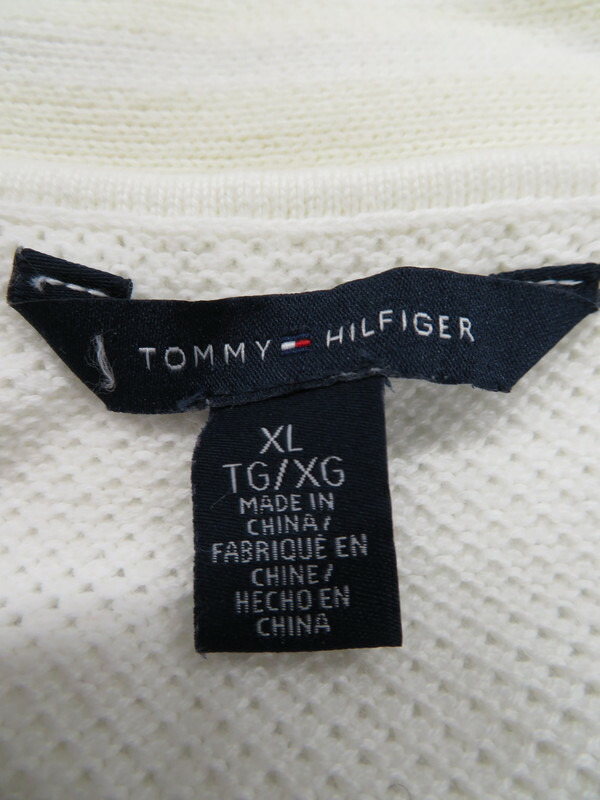 【TOMMY HILFIGER】【トップス】トミーヒルフィガー『カーディガン sizeXL』メンズ 1週間保証【中古】
