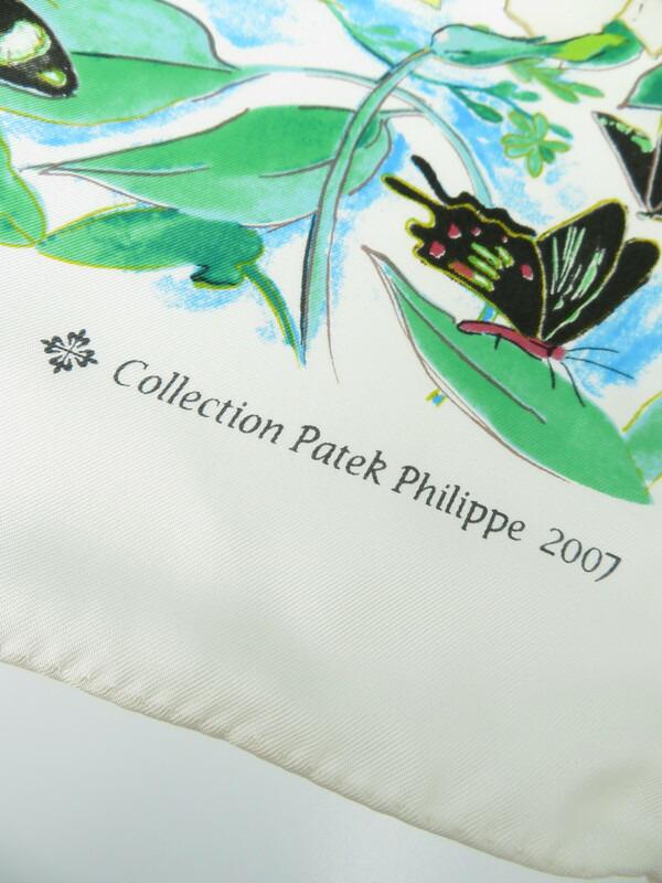 【PATEK PHILIPPE】パテックフィリップ『シルクスカーフ』レディース 1週間保証【中古】