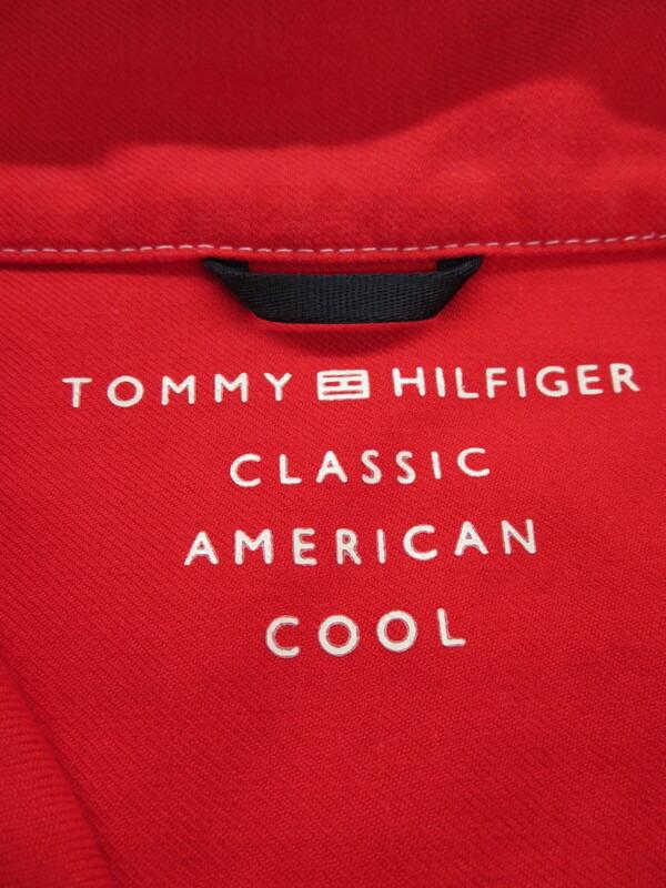 【TOMMY HILFIGER】【トップス】トミーヒルフィガー『長袖シャツ sizeL』メンズ 1週間保証【中古】