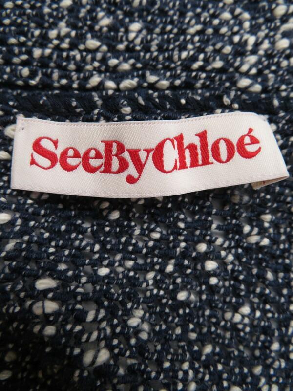 【SEE BY CHLOE】【トップス】シーバイクロエ『カーディガン size38』レディース 1週間保証【中古】