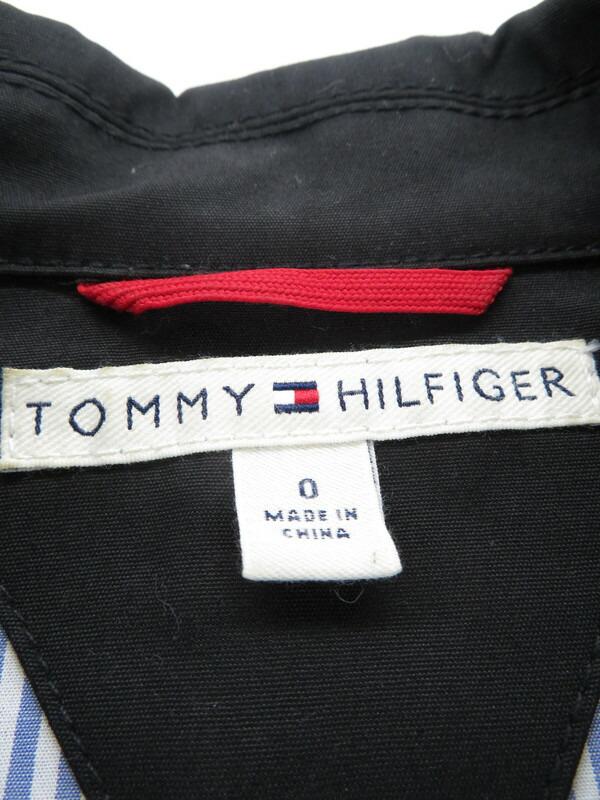【TOMMY HILFIGER】【アウター】トミーヒルフィガー『ステンカラーコート size0』レディース 1週間保証【中古】