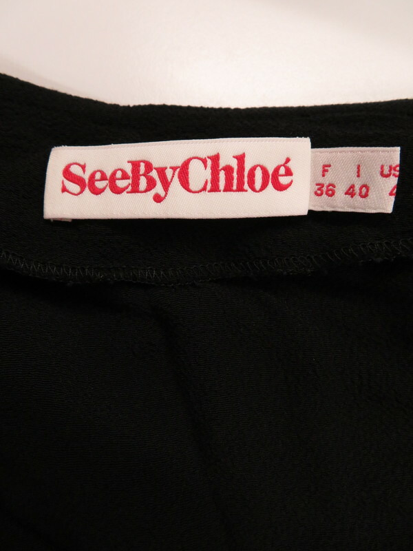 【SEE BY CHLOE】【トップス】シーバイクロエ『カットソー size36』レディース セーター 1週間保証【中古】