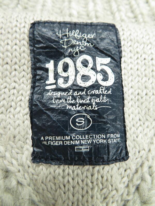 【TOMMY HILFIGER】【アウター】トミーヒルフィガー『ニットジャケット sizeS』レディース 1週間保証【中古】