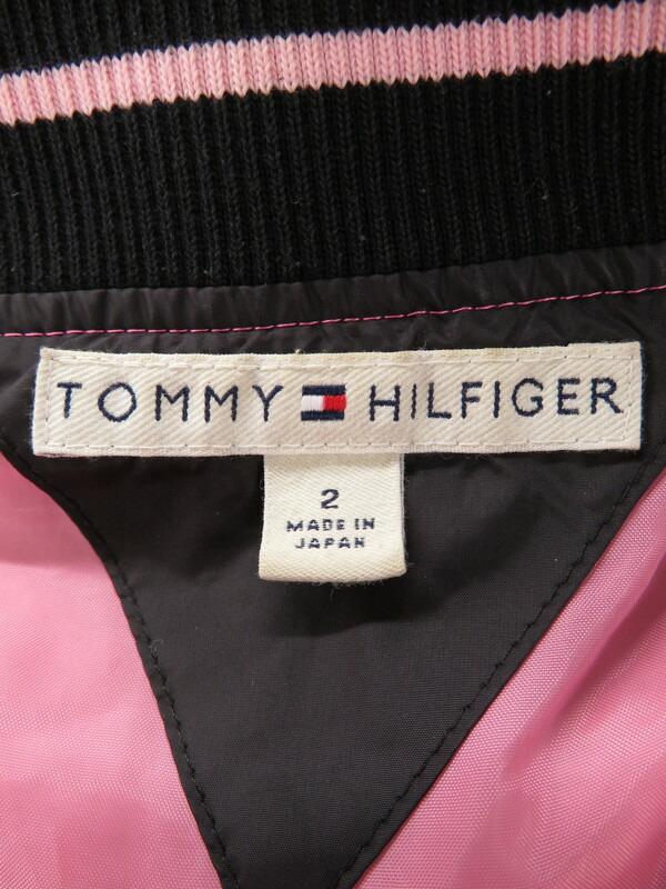 【TOMMY HILFIGER】【アウター】トミーヒルフィガー『中綿ジップジャケット size2』レディース 1週間保証【中古】
