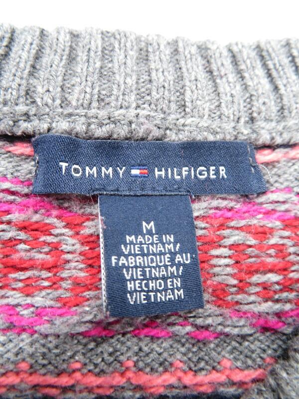 【TOMMY HILFIGER】トミーヒルフィガー『ニットカーディガン sizeM』レディース 1週間保証【中古】