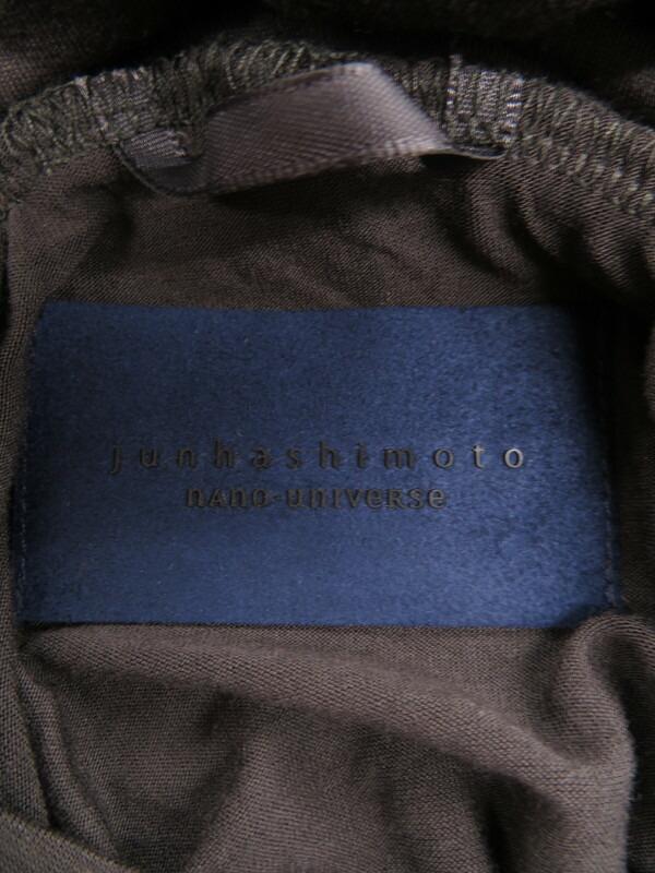 【junhashimoto】【トップス】ジュンハシモト『タートルネックカットソー sizeS』メンズ シャツ 1週間保証【中古】
