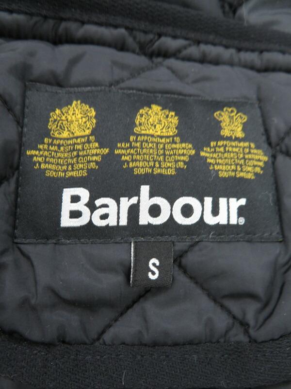 【BARBOUR】バブアー『キルティングベスト sizeS』メンズ 1週間保証【中古】