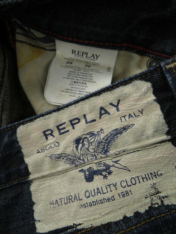 【REPLAY】【ボトムス】【ジーパン】リプレイ『ジーンズ size W29 L32』メンズ デニムパンツ 1週間保証【中古】