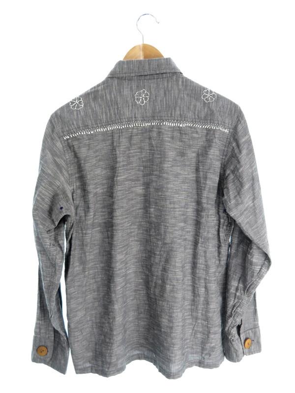 【NEEDLES】【トップス】ニードルス『刺繍入り 長袖シャツ sizeM』メンズ 1週間保証【中古】