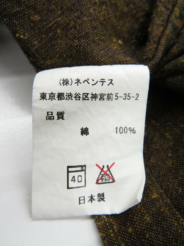 【NEEDLES】【トップス】ニードルス『長袖シャツ sizeS』メンズ 1週間保証【中古】