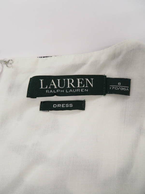 【Ralph Lauren】ラルフローレン『ノースリーブワンピース size8』レディース ドレス 1週間保証【中古】