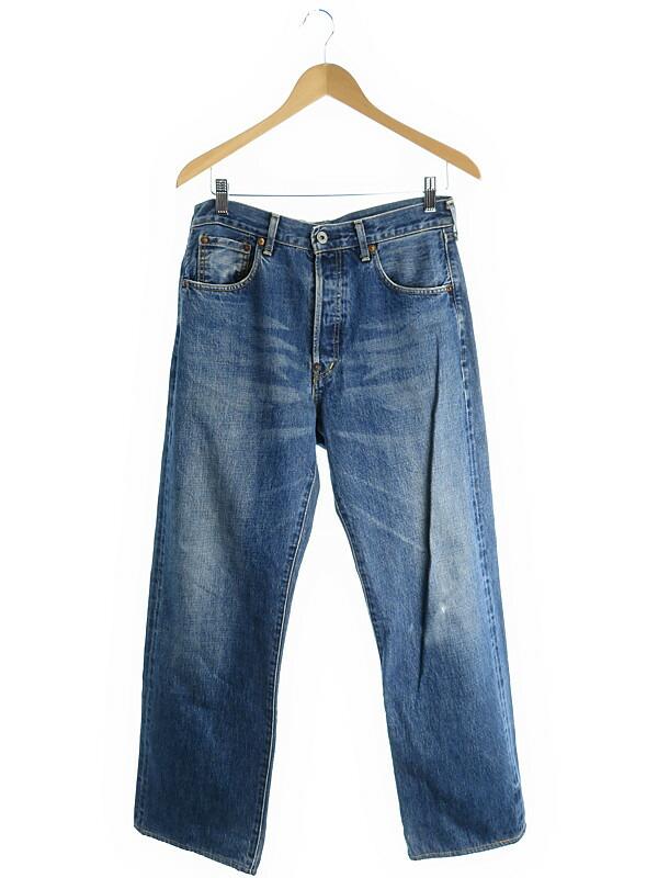 【LEVIS】【ジーパン】リーバイス『702 ジーンズ sizeW32 L36』メンズ デニムパンツ 1週間保証【中古】