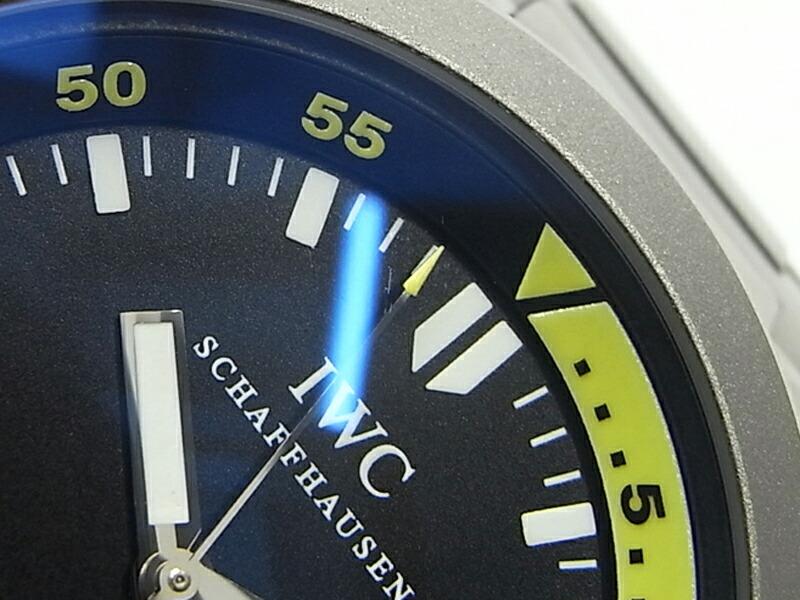 【IWC】インターナショナルウォッチカンパニー『アクアタイマー オートマティック 2000m』IW353803 メンズ 自動巻き 1週間保証【中古】