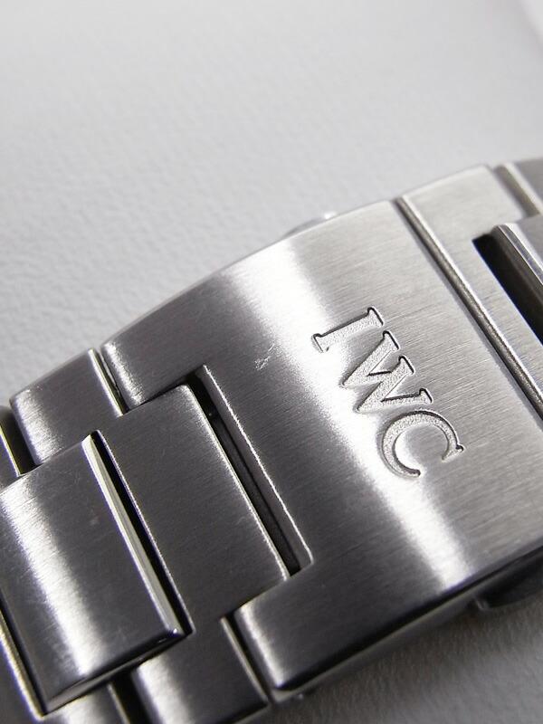 【IWC】【インジュニア】インターナショナルウォッチカンパニー『インヂュニア オートマティック』IW323906 メンズ 自動巻き 6ヶ月保証【中古】
