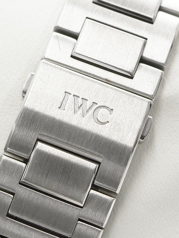 【IWC】【インジュニア】インターナショナルウォッチカンパニー『インヂュニア オートマティック』IW323904 メンズ 自動巻き 6ヶ月保証【中古】