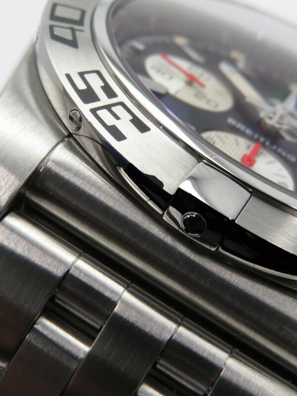 【BREITLING】【世界限定1000本】ブライトリング『クロノマット44 フレッチェトリコローリ』AB0110 メンズ 自動巻き 6ヶ月保証【中古】