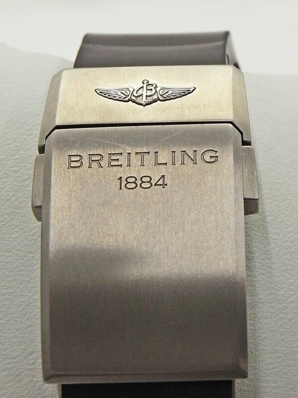 【BREITLING】【仕上済】【1000本限定】ブライトリング『ベントレー スーパースポーツ ライトボディ』E27365 メンズ 自動巻き 6ヶ月保証【中古】