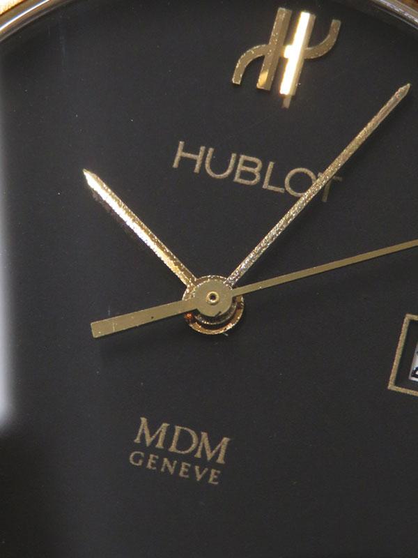 【HUBLOT】【電池交換済】ウブロ『クラシック MDM』S1401 100 2 レディース クォーツ 1週間保証【中古】