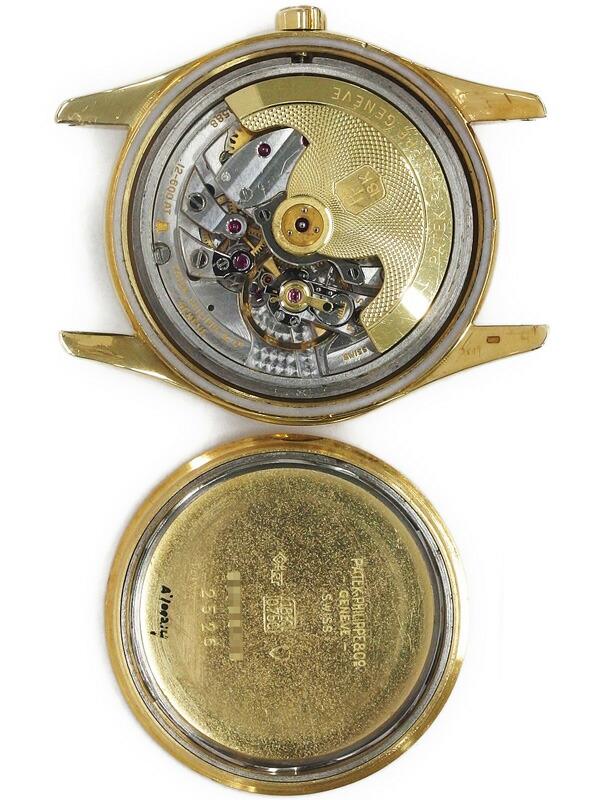 【PATEK PHILIPPE】【初代オートマティック Cal.12-600AT】【メーカーOH済】パテックフィリップ『カラトラバ トロピカル』2526 1954年製 6ヶ月保証【中古】