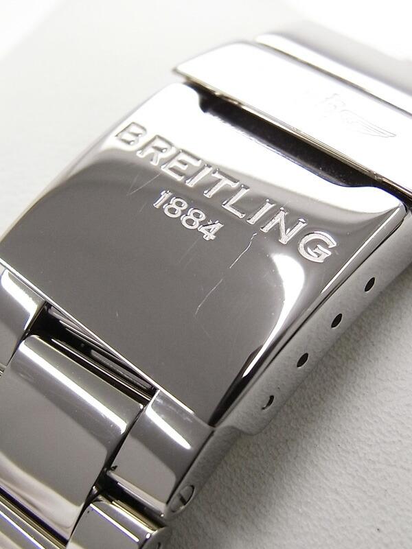 【BREITLING】【'16年購入】【仕上済】ブライトリング『アベンジャー2 GMT』A32390 メンズ 自動巻き 3ヶ月保証【中古】