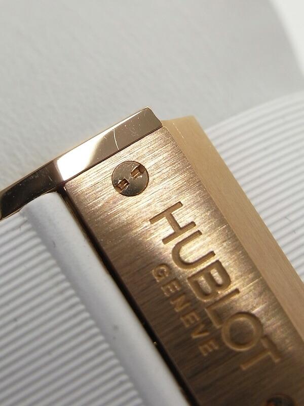 【HUBLOT】【裏スケ】ウブロ『ビッグバン エボリューション』301.PE.2180.RW メンズ 自動巻き 12ヶ月保証【中古】