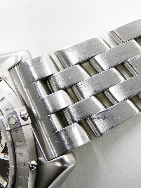 【BREITLING】【内部点検済】ブライトリング『クロノマット ロンジチュート』A20348 メンズ 自動巻き 3ヶ月保証【中古】